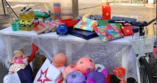Solidariedade: livros, alimentos e 3,3 mil brinquedos arrecadados em gincana no HPM