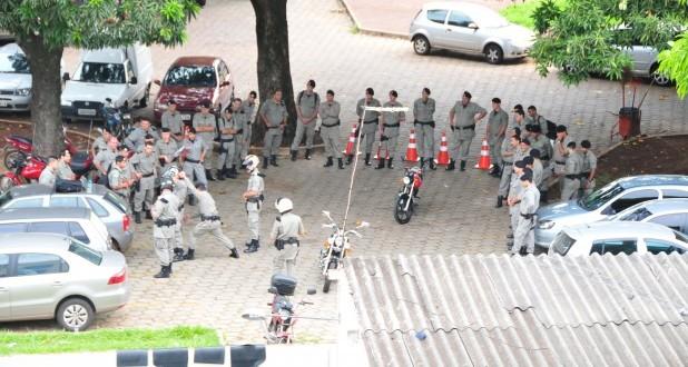 Policiais fazem curso de aperfeiçoamento do POP